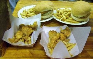 Monday and Tuesday Special 2 fishburgers for $2.50 and Wedensday $1 off haddock deep discount
