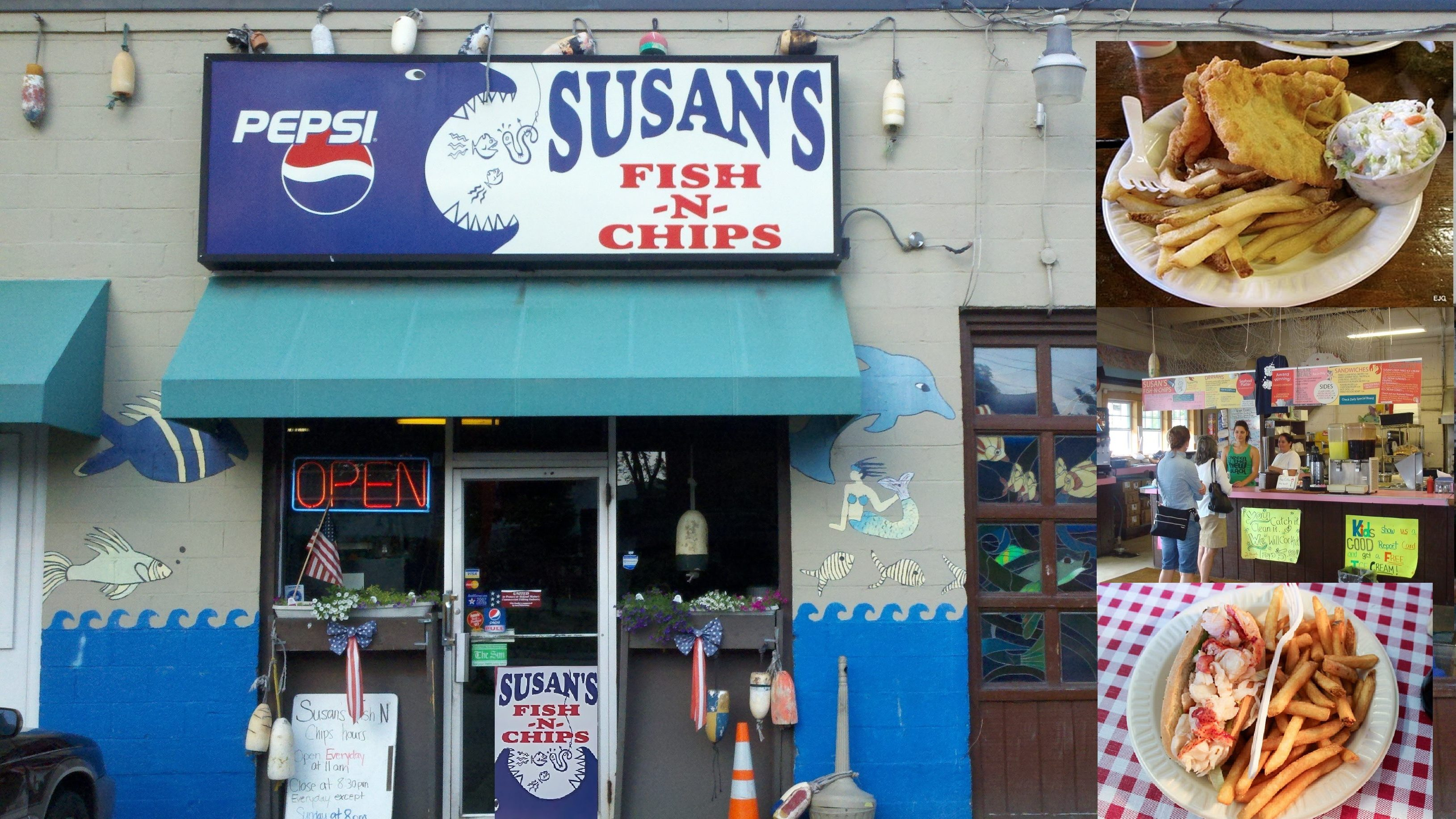 Fried seafood susan 39 s fish n chips portland maine for Susan s fish and chips
