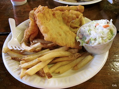 fried seafood, fish and chips best of Portland Maine
